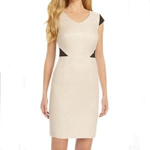 NWT Antonio Melani 'Freja' Cap Sleeve Sheath Dress